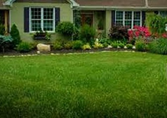 Lakeside Lawn Care-lawn work sample from Holly Springs NC