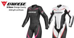 Win $300 Certificate to Dainese Orange at Femmewalla