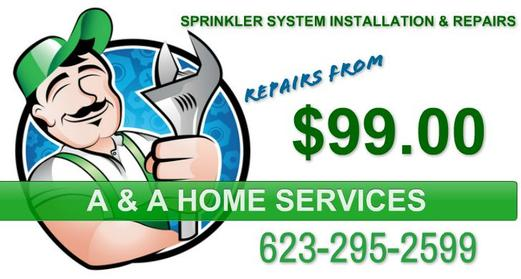 Sprinkler Repair Phoenix