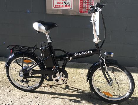 Dillenger Explorer Lithium Electric Bicycle