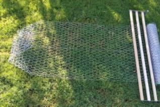 Tool used for wire fence set up chicken coops stucco mesh wire