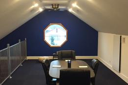 Lockport loft conference room