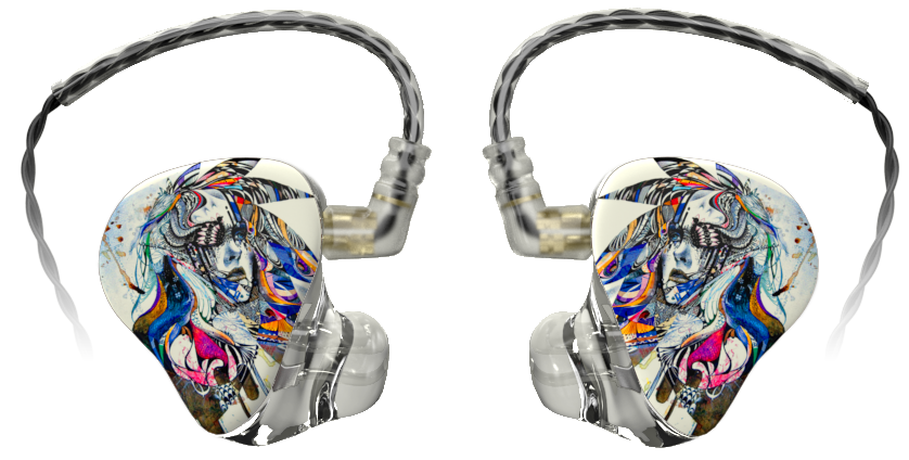 Cheap custom writing in ear monitor