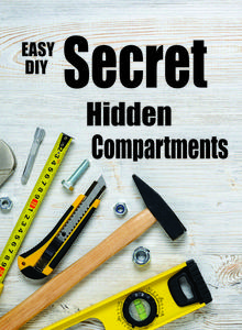 DIY easy Secret Hidden Compartments. FREE step by step instructions. www.DIYeasycrafts.com