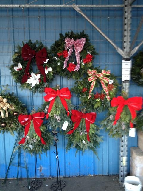 Christmas Wreaths For Sale in St. Johns Michigan