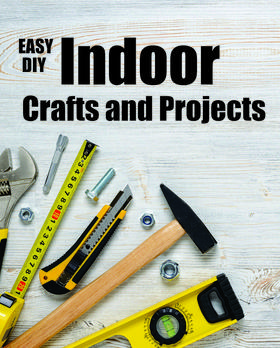DIY easy Indoor crafts and projects. A complete assortment of unique easy DIY projects. www.DIYeasycrafts.com