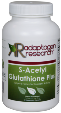 Adaptogen Research, S-Acetyl Glutathione Plus