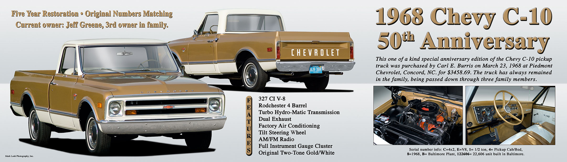 Current Projects 1968 Chevy Truck 50th Anniversary And Recent We Have Completed