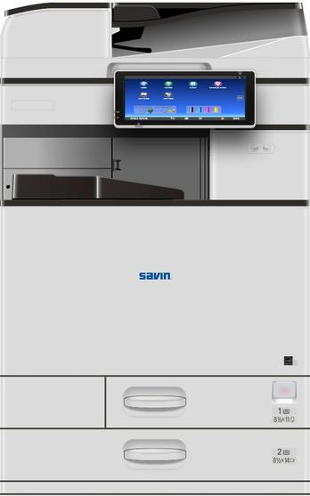 Savin multifunction color systems are designed to give businesses and workgroups the power, intelligence, and compelling color output they've been looking for in a multifunction device. Shop our selection of color multifunction printers and discover a model that works for you.