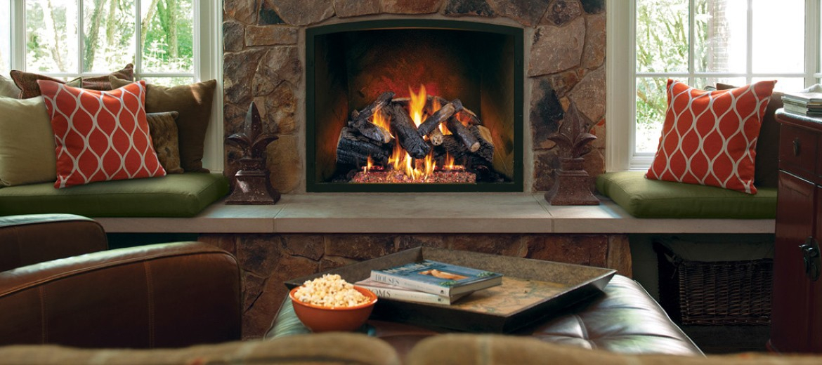 Fireplace Design fireplace parts names : Wood Stove & Gas Logs, Fireplace installation - Covington Hearth ...