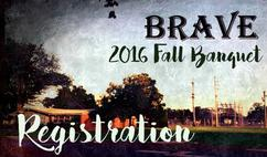 Fall Banquet Registration