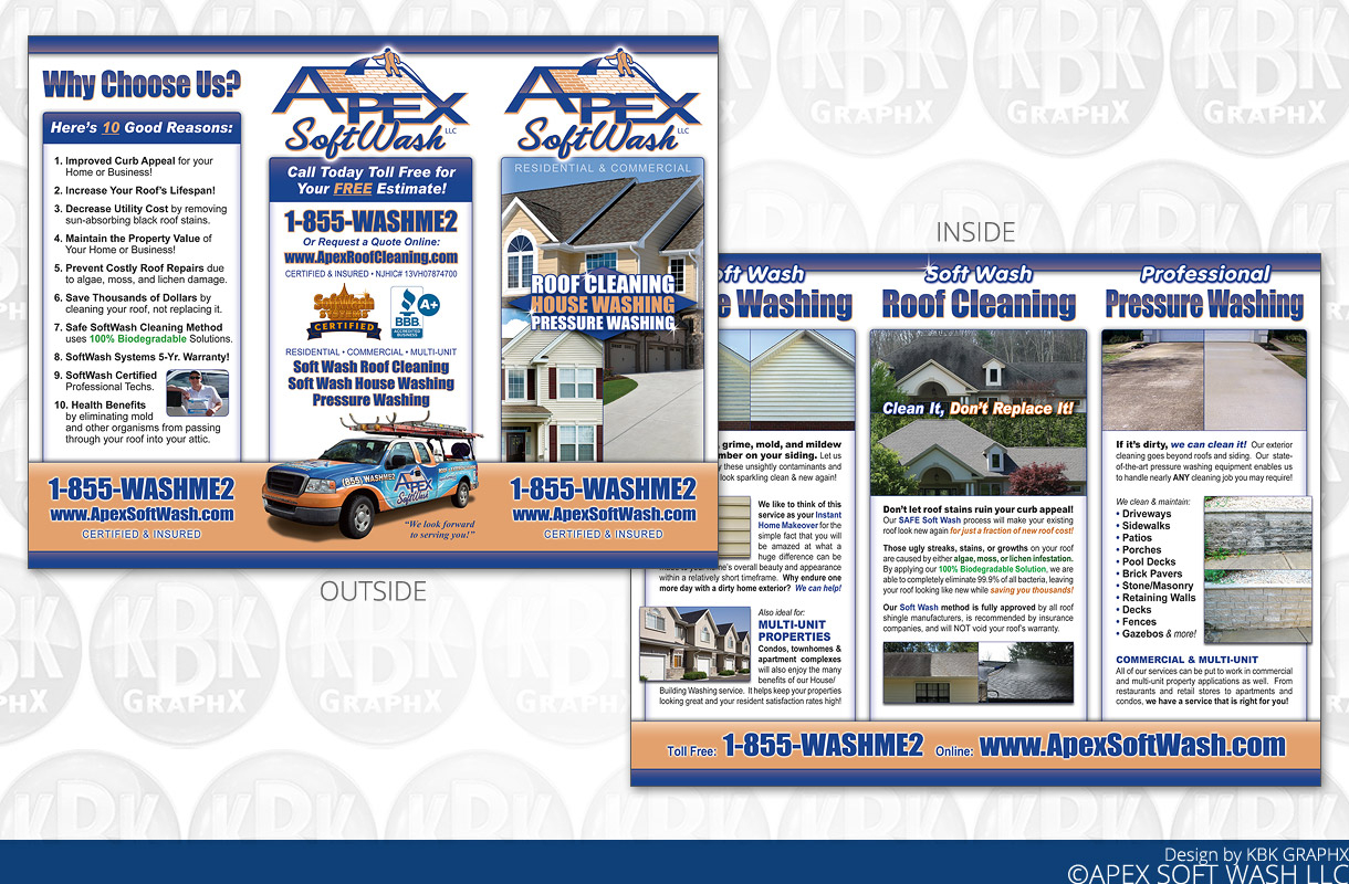 brochure design printing services from kbk graphx