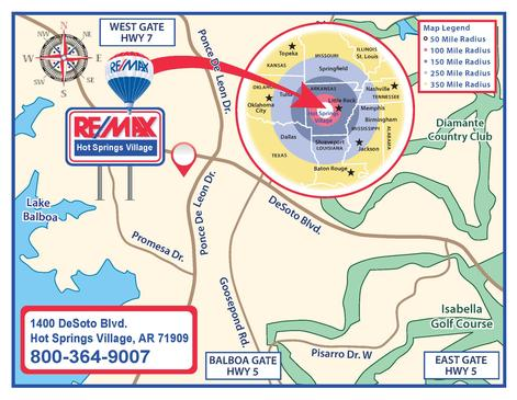 REMAX Real Estate in Hot Springs Village - We Are Here!