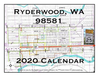 Cover of the Ryderwood 2020 calendar