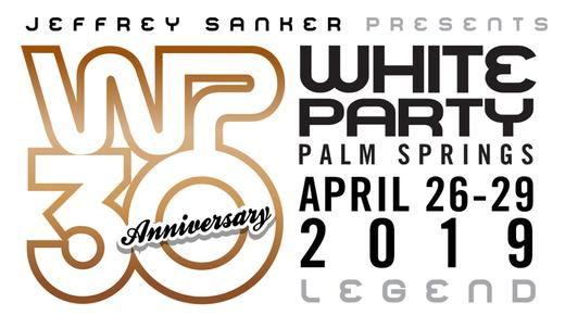 Jeffrey Sankers White Party Palm Springs