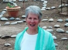 ellie hadsall at havan, homa, yagnya, agnihotra, healing, retreat, meditation