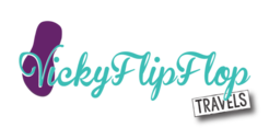 vietnam travel blog logo for vivky flip flops blog