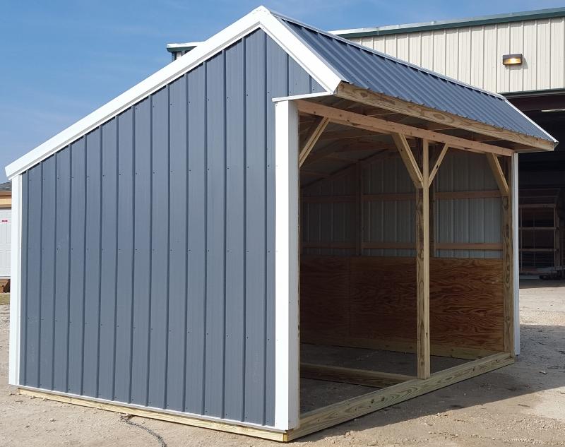 in loafing bastrop texas of installed backside sheds shed