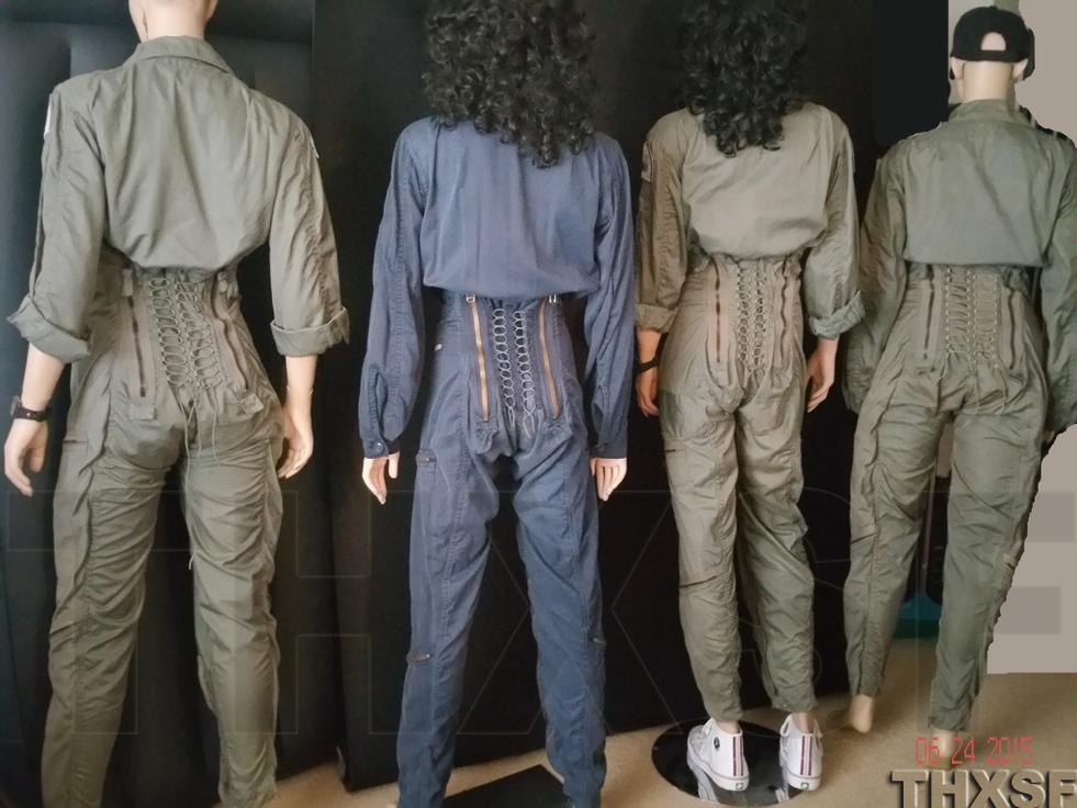 Ripley g-4b Flight Suit Alien