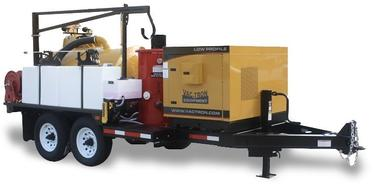 Vac-Tron LP (Low Profile) Series industrial vacuums and vacuum excavation equipment.