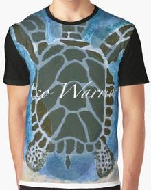 Eco Warrior Save The Turtles T-shirt