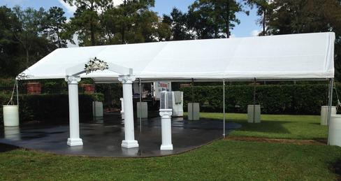 WHITE 20X40 PARTY TENT