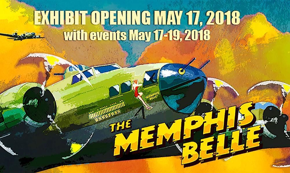 http://www.nationalmuseum.af.mil/Upcoming/Boeing-B-17F-Memphis-Belle-Exhibit-Opening-May-17-2018/