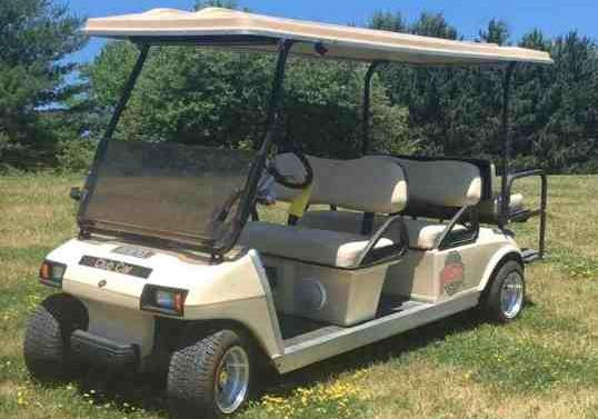 2003 used electric Club Cart
