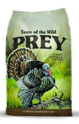 Taste of the Wild Prey Cat Food Turkey flavored