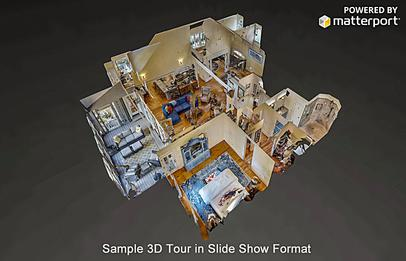 3D Matterport tour in slide show format of 559 North Ridge in The Ridge, Lake Martin AL waterfront homes for sale