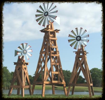 decorative windmills with country charm - Decorative Windmills