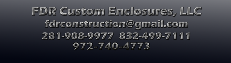 FDR Custom Enclosures Contact Information