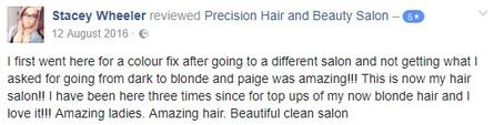 Review Precision Salon Rayleigh Eastwood Leigh On Sea Essex
