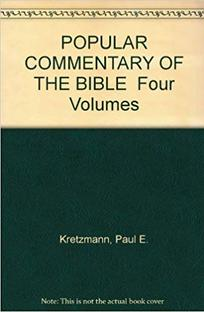 Kretzmann Popular Commentary of the Bible, free online