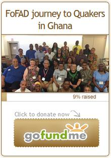 Donate to the Ghana Journey fund