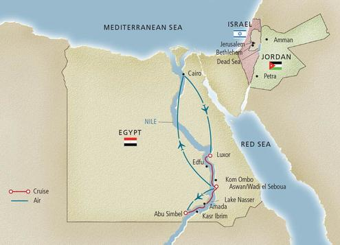 Nile River Cruises Egypt Travel Lark Tours