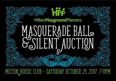 Milton Playground Planners Masquerade Ball and Silent Auction