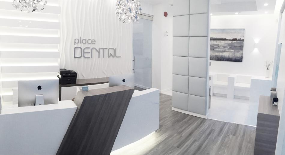Reception Area - Dentist in Orleans | Place Dental
