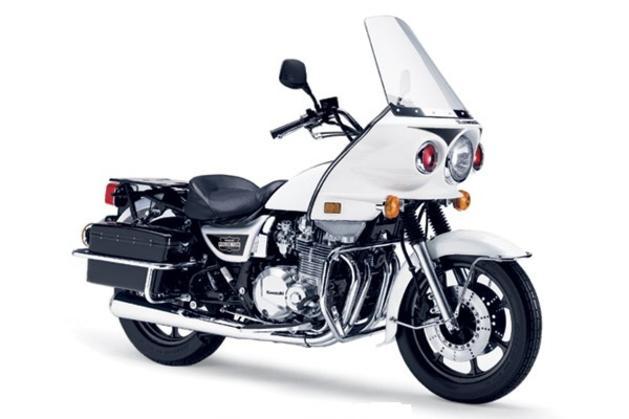 Kawasaki Police Saddlebags