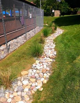 French Drain ,