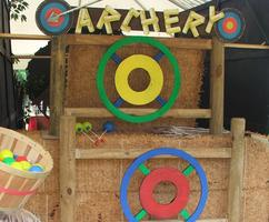 Colorful Archery Carnival Game for Company Picnics and Festivals