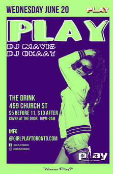 GirlPlay Toronto Pride 2018 Play at The Drink