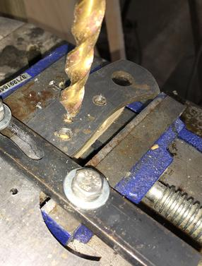 How to make a knife making drill press vise jig. www.DIYeasycrafts.com