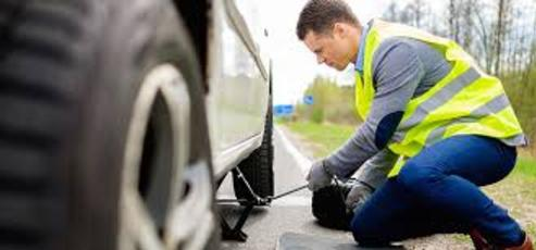Flat Tire Change Services in the Palm of Your Hand