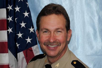 Photo of Sheriff Mark A. Marshall