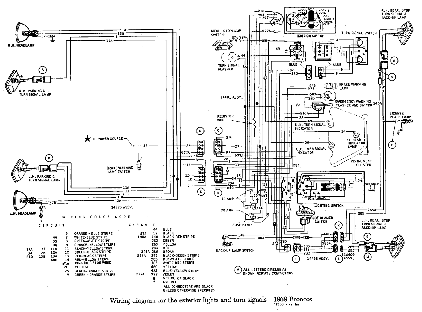 Tech Corner 75 Dodge Truck Wiper Wiring Diagram I Found A Vacuum Chart Specifically For Broncos In California