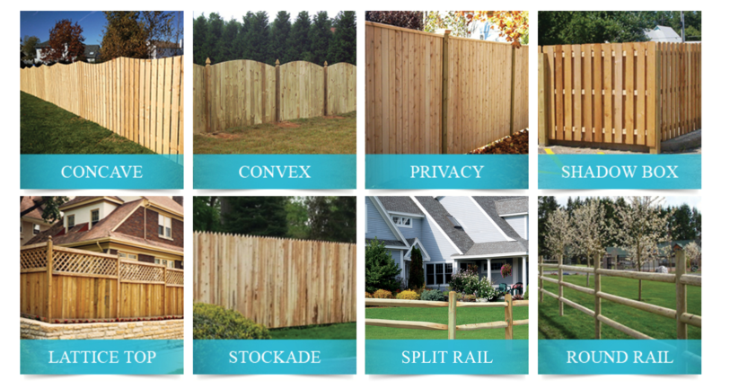 Expert Fence Wood Fence Style Options - Western Red Cedar Wood Fencing Company In Chicago