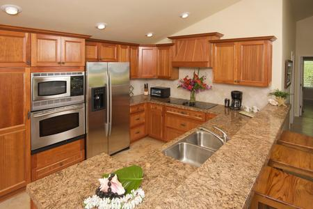 Custom cabinets carpentry granite counter top kitchen remodel in Parker Colorado