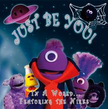 "Just Be You! Upbeat, fun, educational music that kids and families will love! features our puppet characters ""The Nirks"" from our Popular Youtube videos. We are so excited to share our new songs with you! We think you will really enjoy these 10 new songs (plus sing-a-long tracks!) that not only entertain but encourage learning, moving and having fun. In A World Music began a decade ago writing music for Halloween and Horror. Our Halloween albums have been licensed for film, television, and even for Halloween events like Knott's Scary Farm. One Halloween, while we were putting on a neighborhood haunt and blasting our creepy music, a friend asked us, kind of jokingly, to create a children's CD for Halloween because our music was a little too intense and scary for their little ones. We thought that was a great idea, and we released our first children's CD, ""My Halloween,"" filled with catchy kid's songs in 2008. We wanted to make it even more accessible to children, and so the Nirks (named after us, Nicole and Dirk!) were born. Being very low budget, we created puppets out of recycled materials and literally stuff we found in the garage for our first puppet video, ""Trick-or-Treat, "" and it got an incredible response from fans on YouTube! We are so thankful for that support, and it encouraged us to create many more kid's songs (not just for Halloween) and many other videos starring our Nirks characters. We love making children happy, and keeping families laughing as well as helping them learn and have fun. The New Album: The new album is entitled Just Be You! This Project is particularly special to us because we wrote songs inspired by our friends and family. Our featured Single, ""I'm Me,"" is for anyone who ever feels like it's tough to just be yourself, especially when other people don't understand, are mean to you, or even think you're just plain weird! As self-proclaimed oddballs, we relate extremely well to this song! All of our Nirks are unique and quirky (like us) and celebrate being different, special and (especially!) weird. Our other songs are all about fun topics that we love, or something that is special to someone close to us. Here is a list of the new songs and what they are about. Tracks: 1. The Nirks – This is a brand new theme song for our puppet characters, the Nirks! 2. I'm Me – A song about just being yourself! This is the most personal track on the album, and it's based on not only our experiences, but many of our friends as well (we love our weird friends!) 3. What Makes A Train Go? - This song is all about steam trains and how they work! It is dedicated to Nicole's husband Jason – who loves trains, and is the most supportive husband in the universe! 4. Meet the Planets – This song was a request from Nicole's father, who loves astronomy, space, and science, and instilled that love in his children. It's a fun introduction to each of the plants in our solar system, and some of their unique traits. 5. I Wanna Be A Dancer – Nicole's sister, who is a wonderful ballerina, inspired this song. It's about the dream of growing up to be a dancer! 6. Let's Make Some Shapes – When Nicole needed a little help with math, her father would stay up and tutor her at night, even after a full day of work. He always tried to make it fun, and this song about Geometry is all about how to make and understand various shapes. 7. Halloween – This is a song about Halloween, the Nirk's FAVORITE holiday! It was written for Dirk's family and girlfriend, who LOVE Halloween, and really go all out for it every year! 8. My Best Friend – Dirk wrote this song for HIS best friend! 9. Flying on A Plane – Remember your first plane ride? It was exciting and fun, right? Have you flown recently? Maybe not so much fun now… We LOVE traveling, seeing new places and trying new things, but judging by our last few flights, some people still can't seem to figure how flying works. Maybe if we teach 'em young and make it fun, it will go smoother and less stressful for us all! 10. Cleaning My Room – Make picking up your room fun! This one is about Dirk and Nicole - two of the messiest people ever to wander the earth. When filming, the house looks like a puppet massacre… PLUS - Another 10 tracks with instrumental versions of every song so you can sing along (kid's karaoke!) or even make up your own words! We can't Thank You enough for your continued support of our insanity. Our fans, and all the little kids out there singing our songs and watching our videos are what keep us going!"