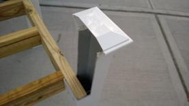 How to make a PVC Cooler Stand. Fence post legs. www.DIYeasycrafts.com